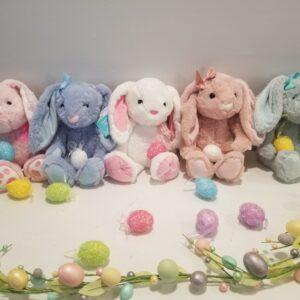 Custom Embroidered Bunnies